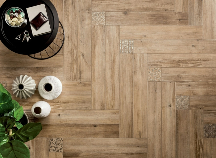 Wooden tiles wood panels wood paneling wood tiles tile wood look home decor wall view bird's eye view