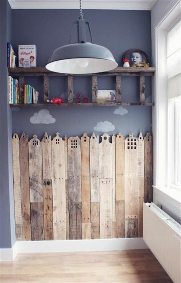Nursery deco selv lage deco wood boards