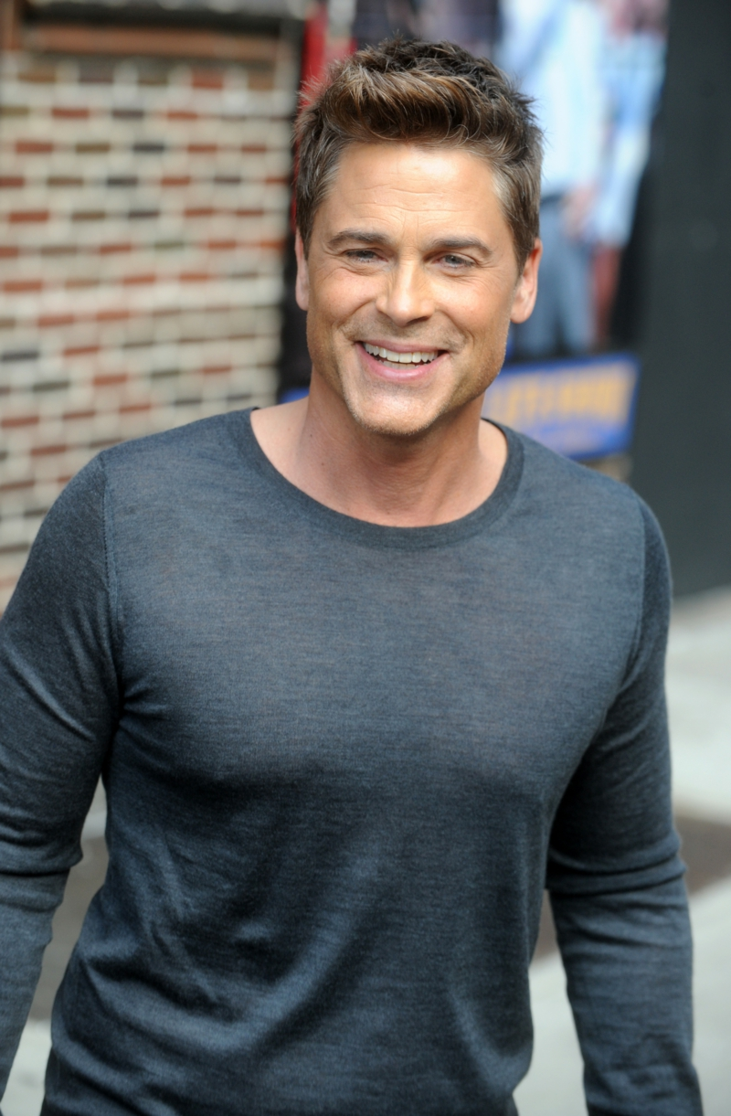 Rob Lowe sexy acteur Hollywood-sterren