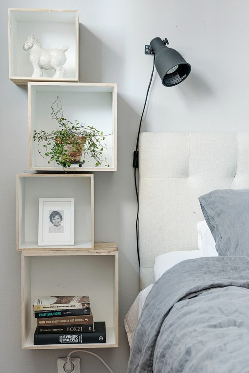 Shelf Yourself Build Instruction Bedroom Bedside Table