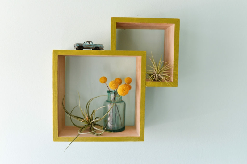 DIY wall shelf DIY decoration ideas