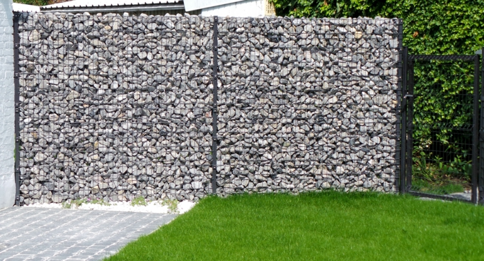 gabionen-gabionen wall-ideas