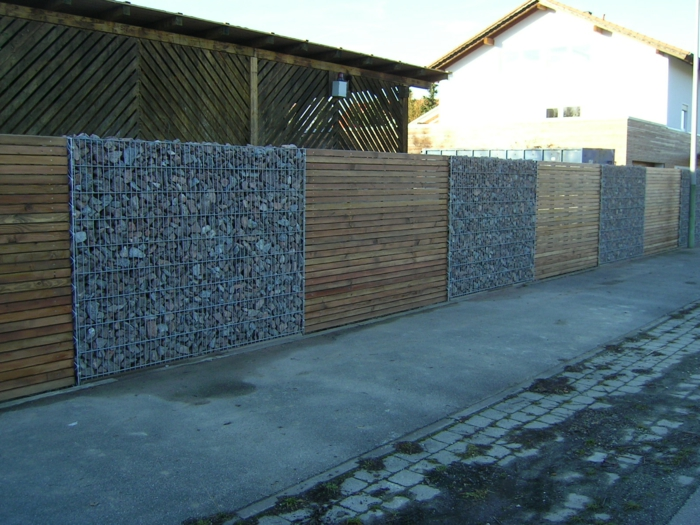 gabionen wall-ideas