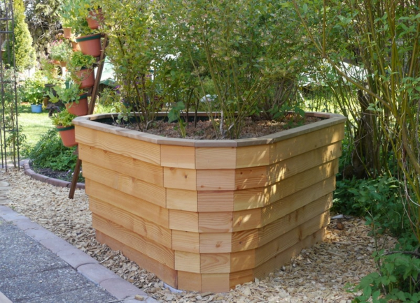 stima raised bed model trio