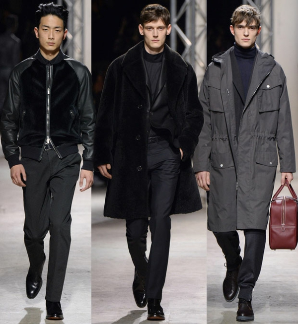 Men outfits Hermes Fall Winter 2014 2015 fashion tips men