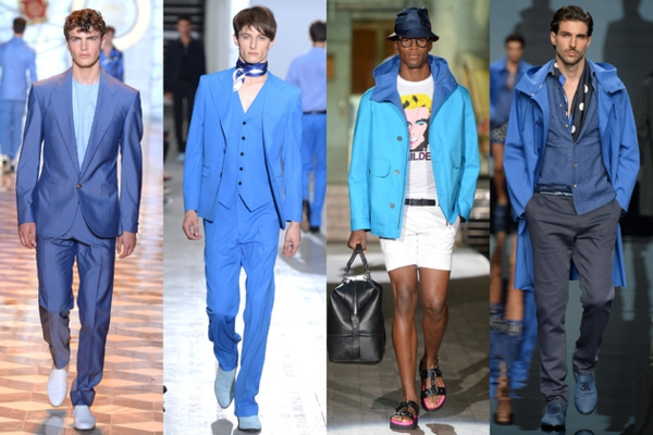 men outfits colors blue moderating ss 2015 fashion tips men