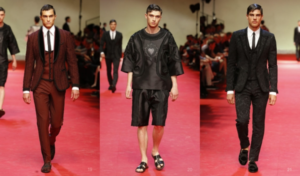 men outfits fashion trends dolce and gabbana ss 2015 fashion tips men