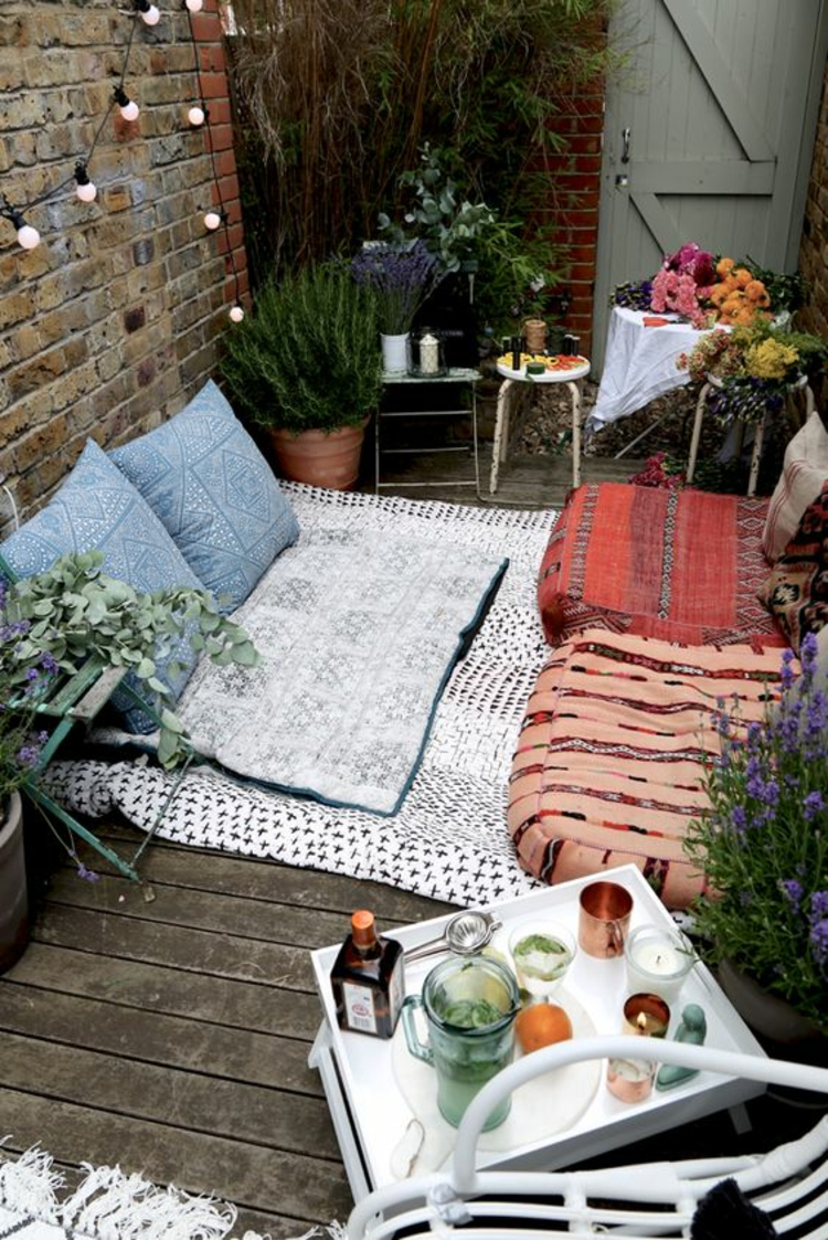 modern terrace design pictures balcony furniture floor cushions