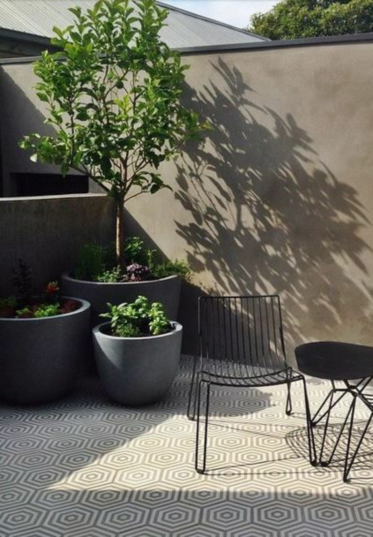 modern terrace design pictures balcony furniture garden furniture and container plants