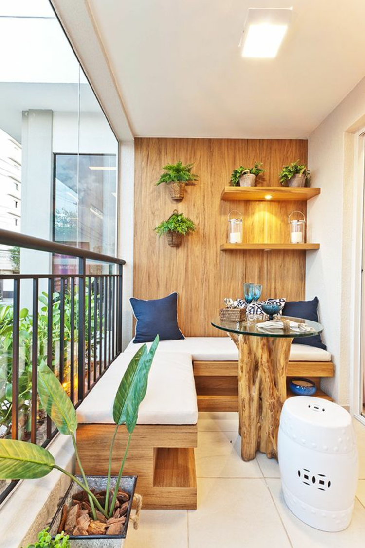modern terrace design pictures balcony furniture wood wall covering
