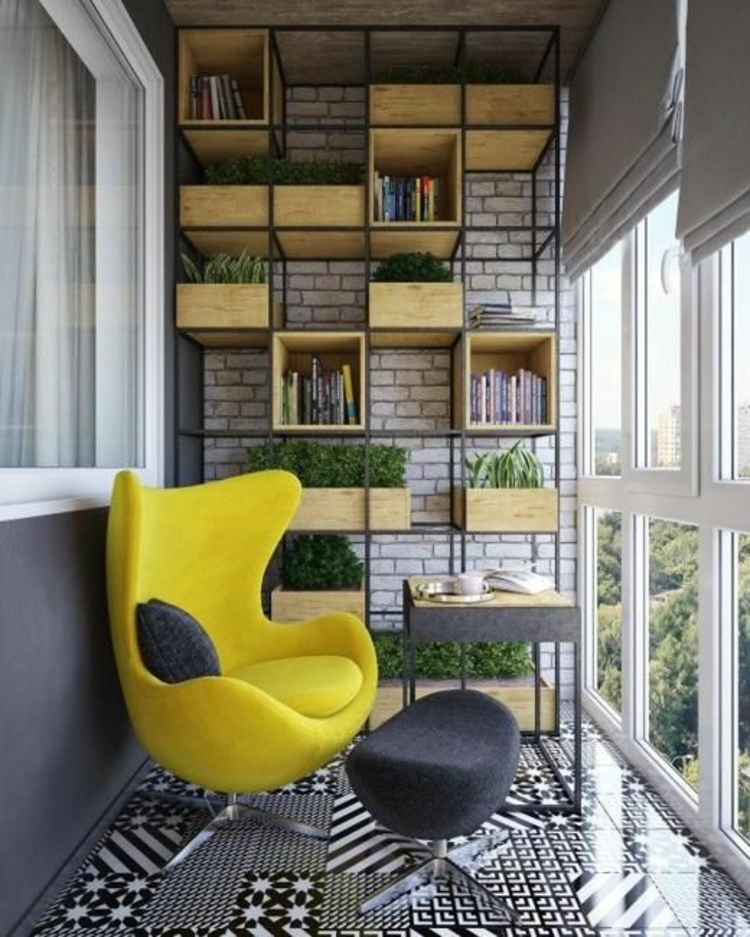 modern terrace design pictures balcony furniture fresh colors bookshelf