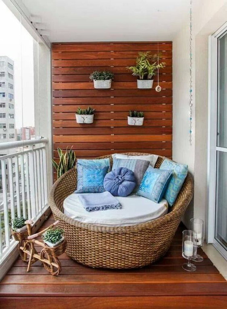modern terrace design pictures rustic rattan furniture wood wall covering