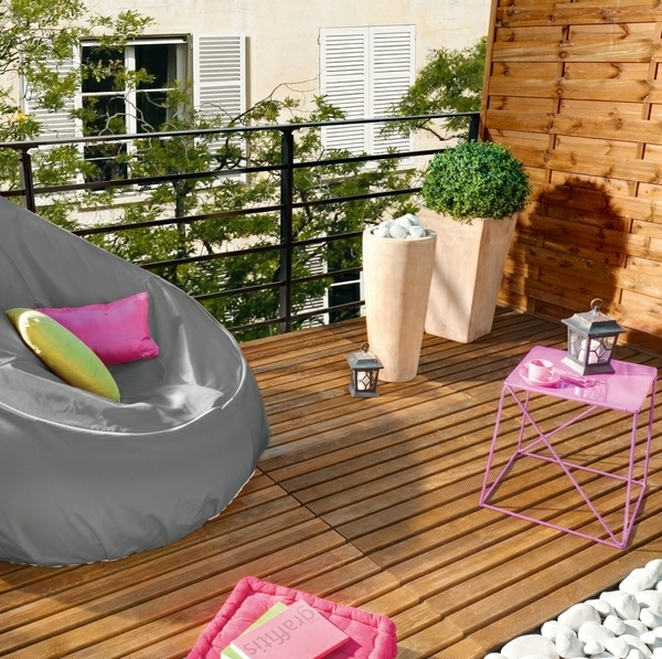 practical balcony ideas colorful cozy corner to relax