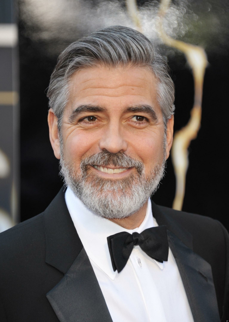 sexy acteur Hollywood George Clooney