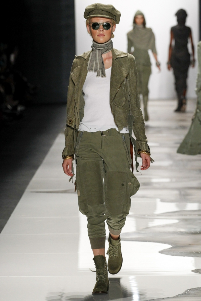 summer fashion women's fashion ladies greg lauren 2016 military style