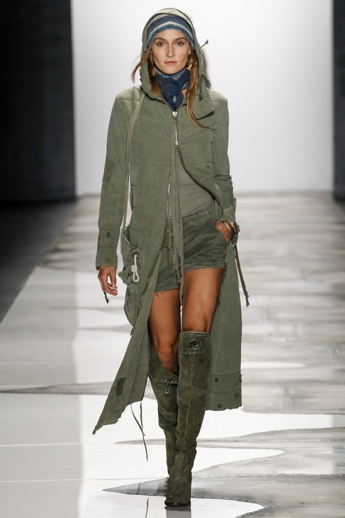 summer fashion women's fashion ladies greg lauren 2016 boots coat shorts military style