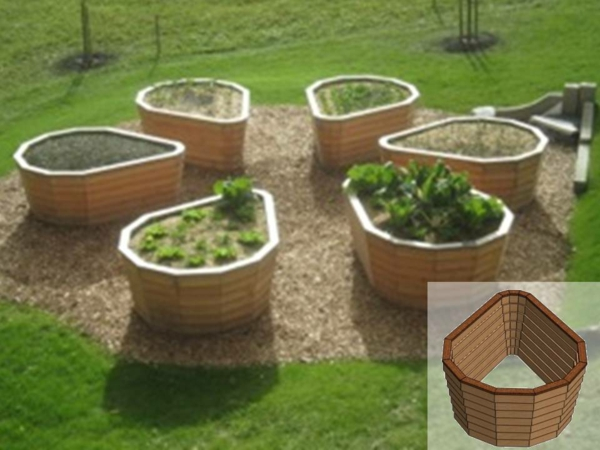 stima raised bed model flor