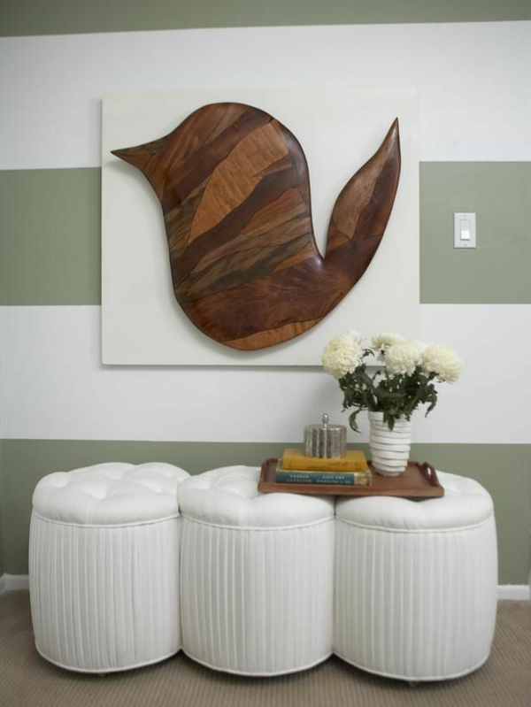 wall design with wood wall art DIY art abstract wall decoration with wood