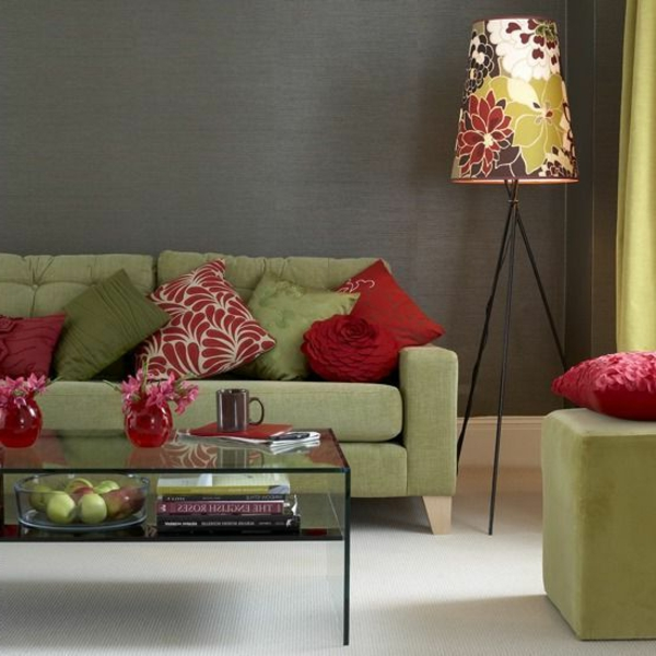 room color scheme beautiful color combination sage green red